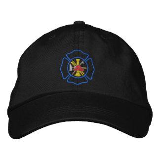Casquette Brodée Logo maltais du feu