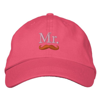 Casquette Brodée M. et Mme Embroidery Embroidered Cap