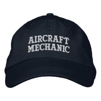 Casquette Brodée Mécanicien d'aviation