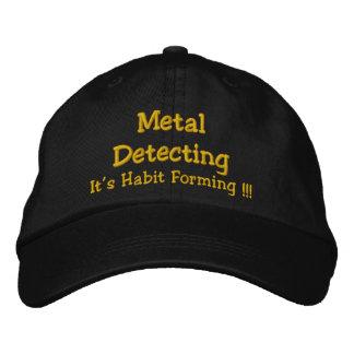 Casquette Brodée Metal la détection, il est formation d'habitude !