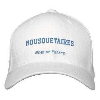 Casquette Brodée MOUSQUETAIRES, vitesse de la France