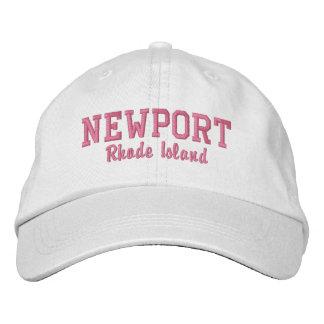 Casquette Brodée Newport, Île de Rhode