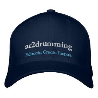 Casquette Brodée PAC : ar2 drumming - Instruisez. Créez. Inspirez