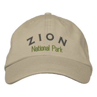 Casquette Brodée Parc national de Zion