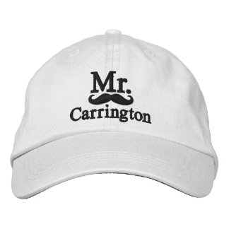 Casquette Brodée Personnalisez M. et Mme Embroidery Embroidered Cap