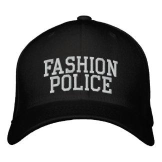Casquette Brodée Police de mode