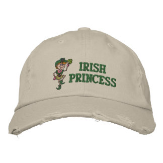 Casquette Brodée Princesse irlandaise Embroidered Hat