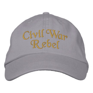 Casquette Brodée Rebelle de guerre civile