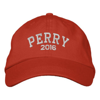 Casquette Brodée Rick Perry 2016