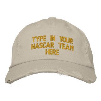Casquette Brodée Saisissez votre équipe de NASCAR ici