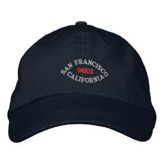 CASQUETTE BRODÉE SAN FRANCISCO LA CALIFORNIE, 94102