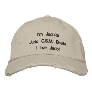 Casquette Brodée Sapca Barbati - je suis Judoka et j'aime le judo !