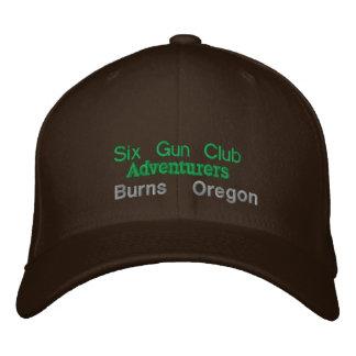 Casquette Brodée Six clubs d'arme à feu