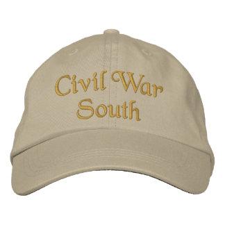 Casquette Brodée Sud de guerre civile