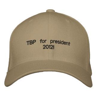 Casquette Brodée TBP pour president2012 !