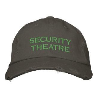 Casquette Brodée théâtre de sécurité