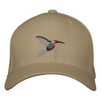 Casquette Brodée tribal de colibri
