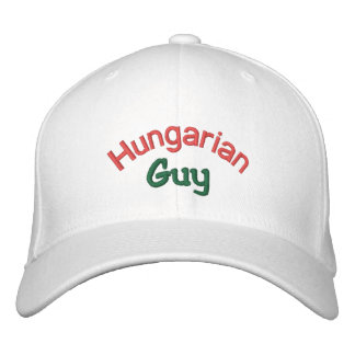 Casquette Brodée Type hongrois