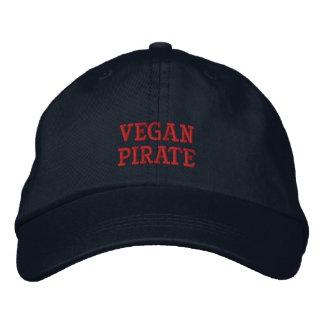 Casquette Brodée Vegan Pirate Cap