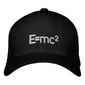 Casquette Brodée Vitesse de la lumière   d'E=mc2 Albert Einstein