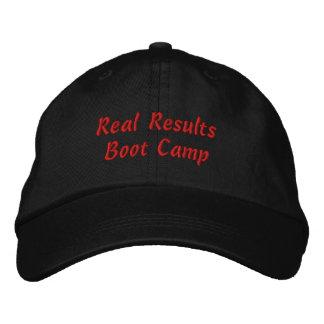 Casquette Brodée Vrais résultats Boot Camp