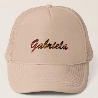 Casquette brun de la maille de Gabriela