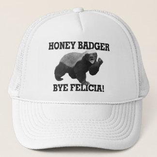 Casquette Bye Felicia de blaireau de miel