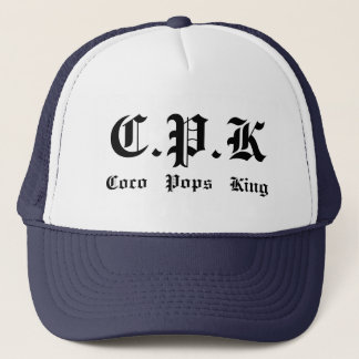 Casquette C.P.K, Cocos   saute   le roi