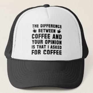 Casquette Café et votre avis
