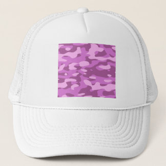 Casquette Camouflage rose Girly
