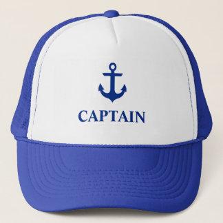 Casquette Capitaine nautique Anchor Blue