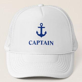 Casquette Capitaine nautique Anchor White