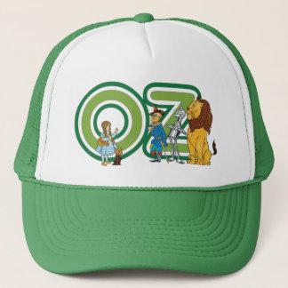 Casquette Caractères vintages de magicien d'Oz et lettres