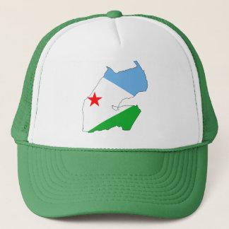 Casquette Carte DJ de drapeau de Djibouti