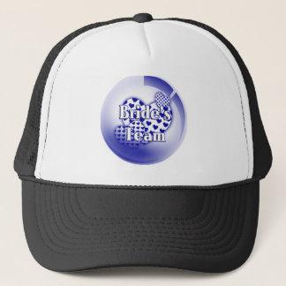 Casquette Casquette/casquette d'équipe de jeunes mariées