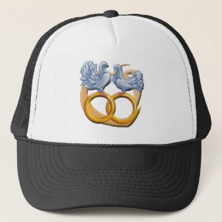 Casquette Casquette/casquette d'inséparables de mariage