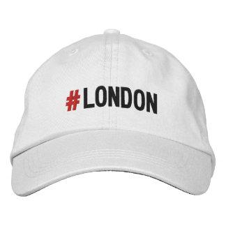 Casquette/casquette de Hashtag Londres de #LONDON Casquette Brodée