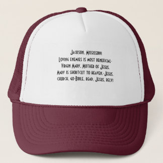 Casquette Casquette/Jackson, Mississippi christian/Be un
