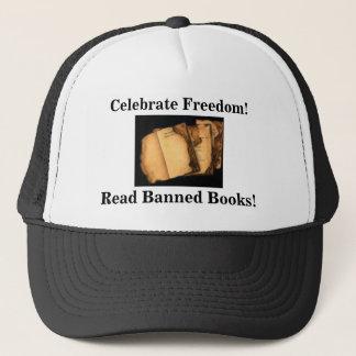 Casquette Célébrez la liberté ! Lisez les livres interdits !