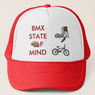 Casquette cerveau, bmxer, vélo de bmx, BMXSTATEofmind