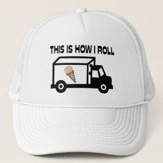 Casquette C'est comment je roule le camion de crème glacée