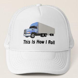 Casquette C'est comment je roule semi le camion