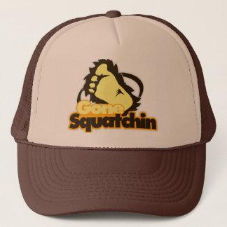 Casquette Chapeau allé de camionneur de Squatchin