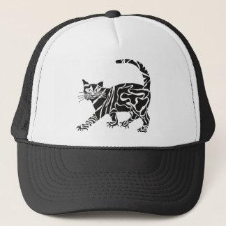 Casquette chat noir