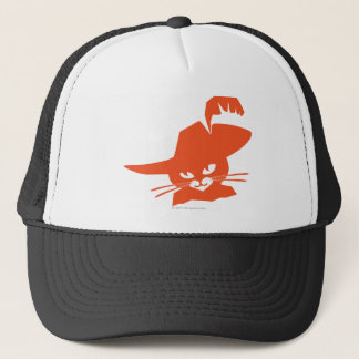 Casquette Chat orange
