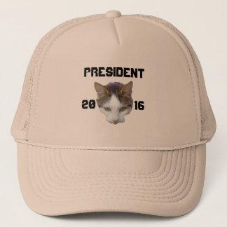 Casquette Chat pour pour le président 2016