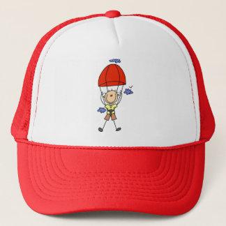 Casquette Chiffre de bâton de parachutisme