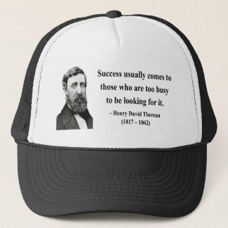 Casquette Citation 7b de Thoreau