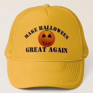 Casquette Citrouille américain drôle Halloween