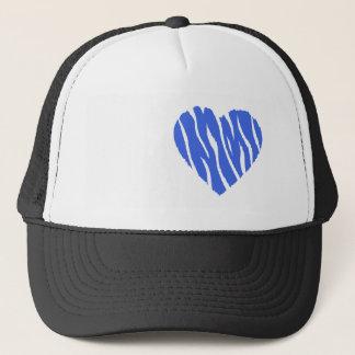 Casquette Coeur de bleu royal